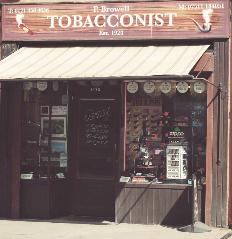P Browell Tobacconists