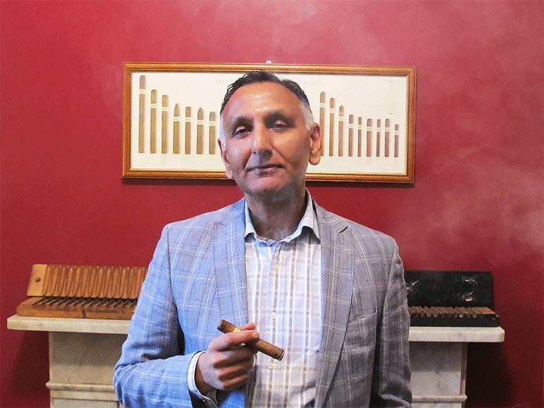 Paresh Patel Interview in Cigar Journal